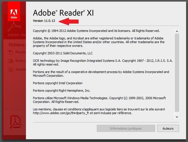 ADOBE READER GRATUITEMENT TÉLÉCHARGER 11.0.22