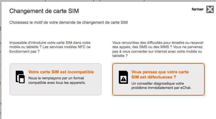 carte sim non configurée Résolu : Carte Multi SIM 'Appels d'urgence Uniquement' et