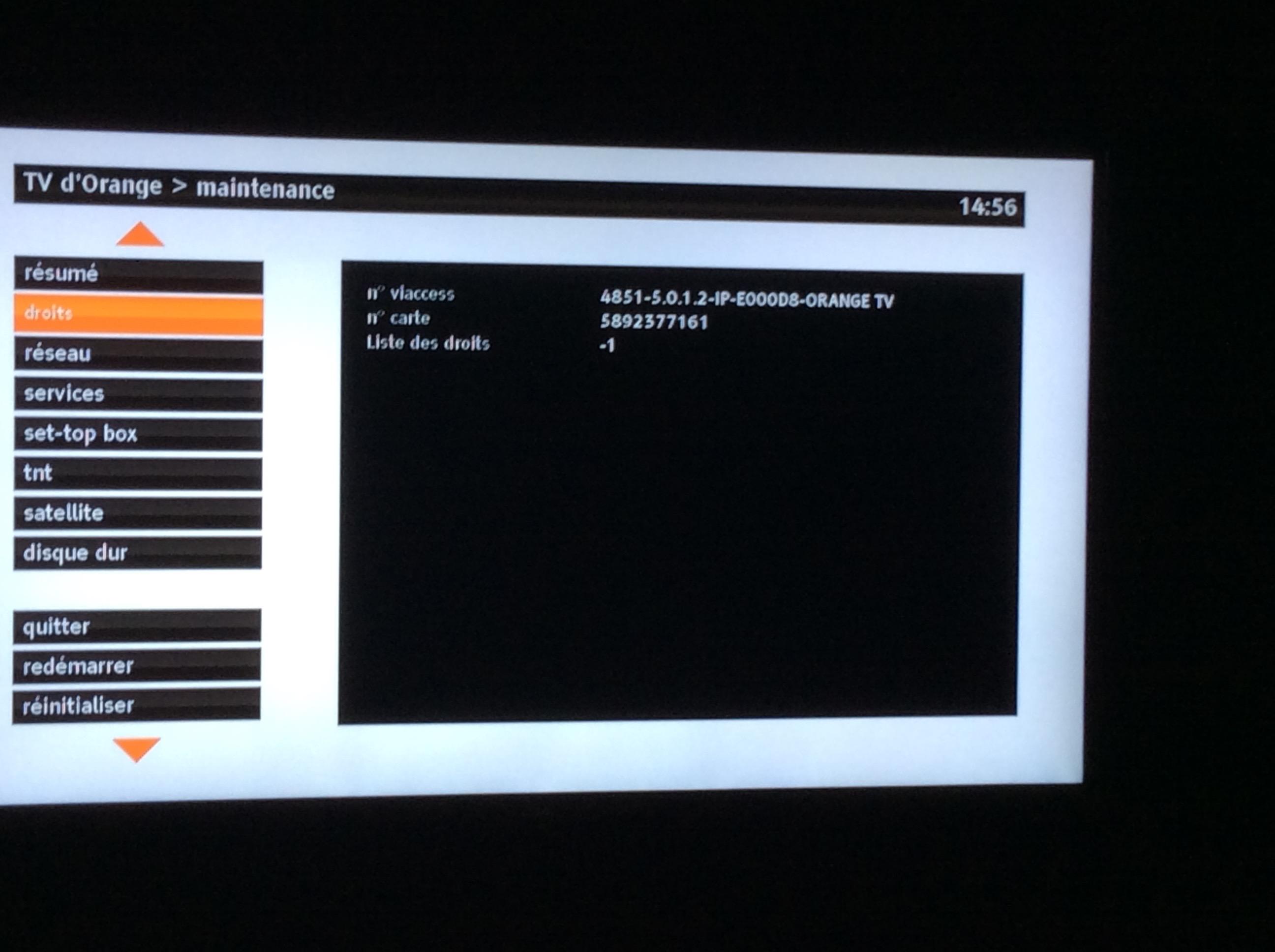 carte d 39 acces tv communaut orange. Black Bedroom Furniture Sets. Home Design Ideas
