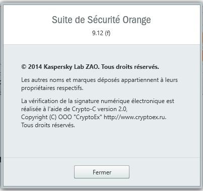 suite de sécurité orange 9.12 (c)