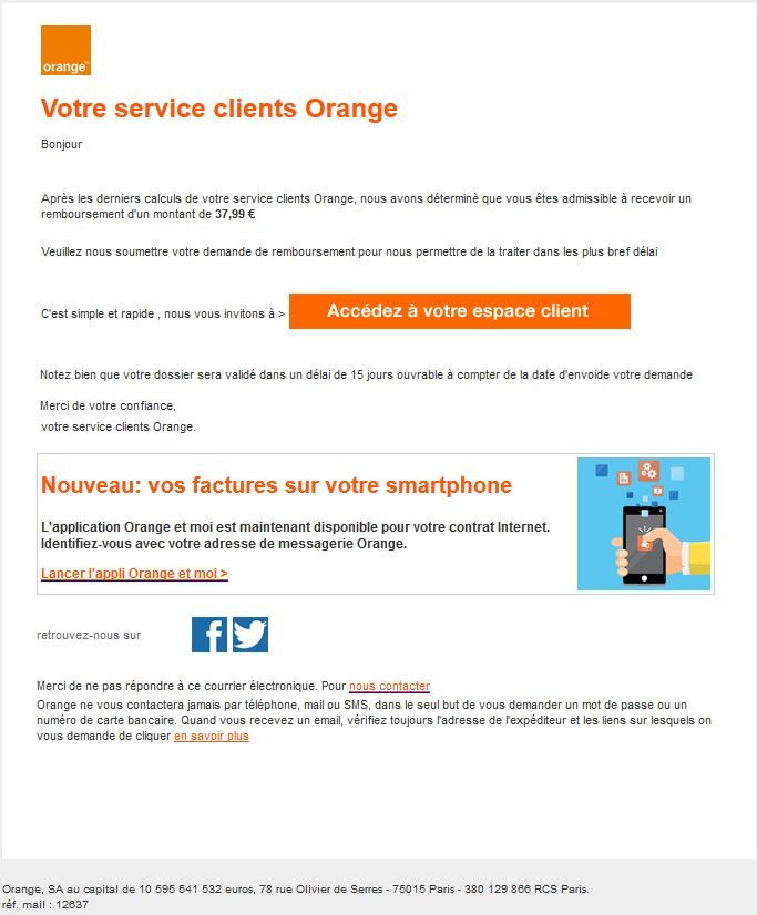 escroquerie orange par telephone