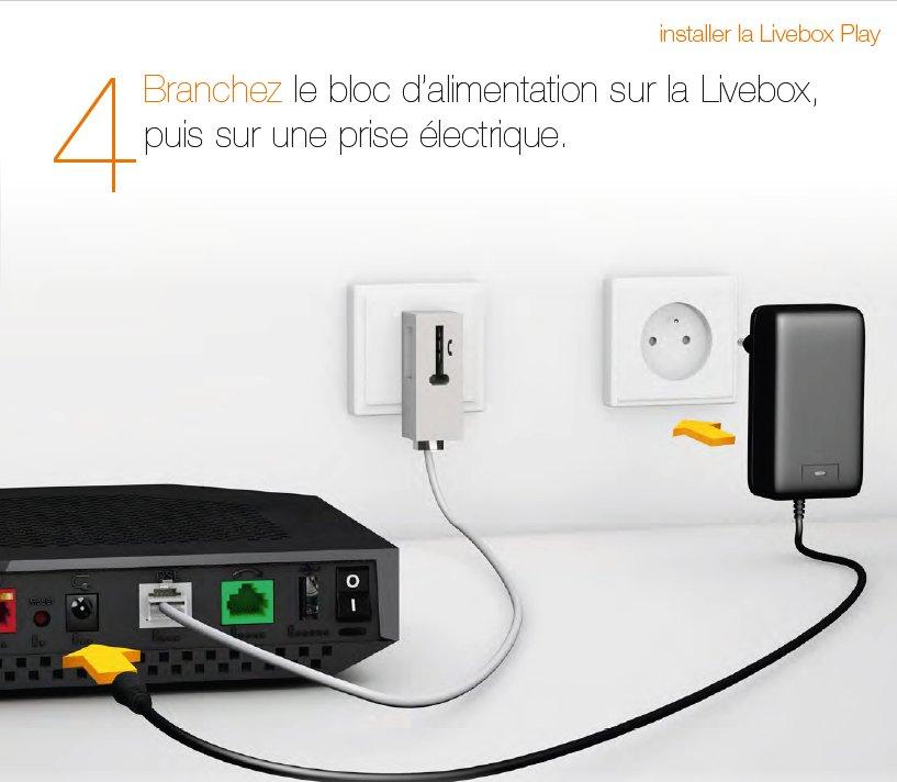 Déménagement Orange Internet : d m nagement et branchement de la livebox communaut orange ~ Nature-et-papiers.com Idées de Décoration