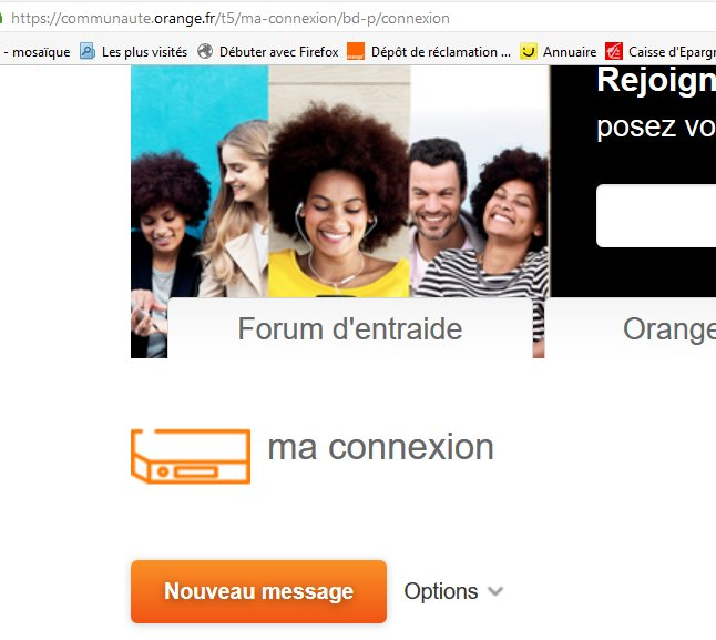 ma webcam Orange
