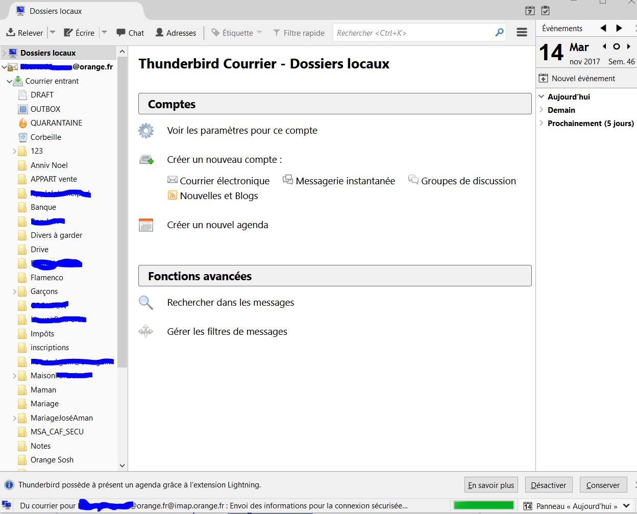 Probl me de messagerie avec thunderbird sur mon pc page for Orange mail messagerie internet illimite