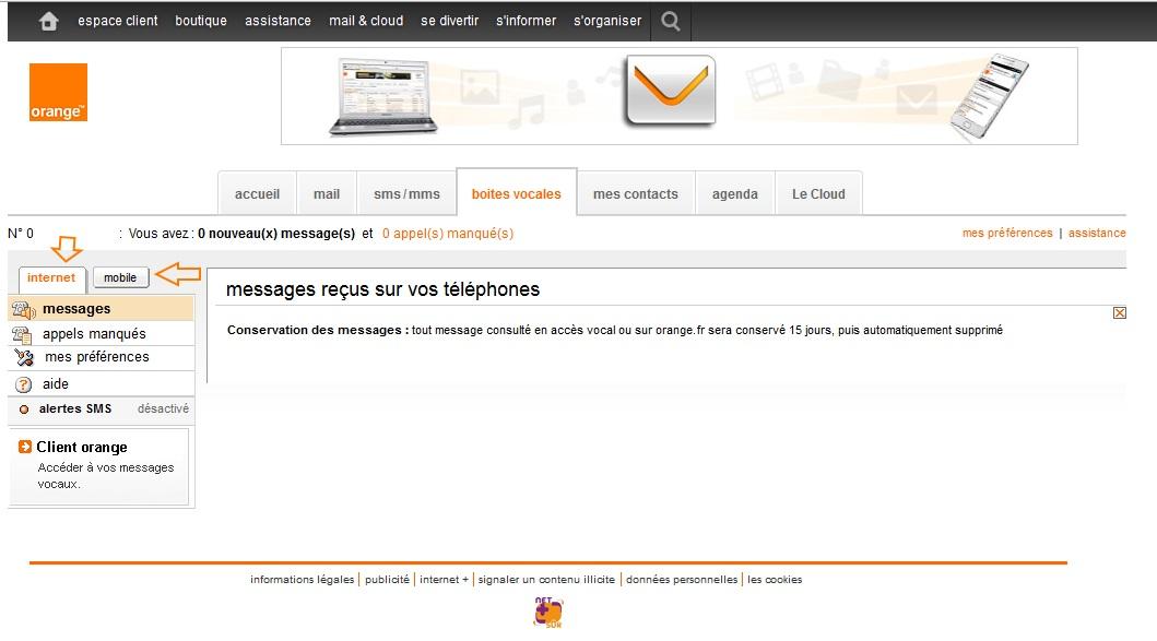 ma messagerie vocale 888 sur mon pc page 2 communaut orange. Black Bedroom Furniture Sets. Home Design Ideas