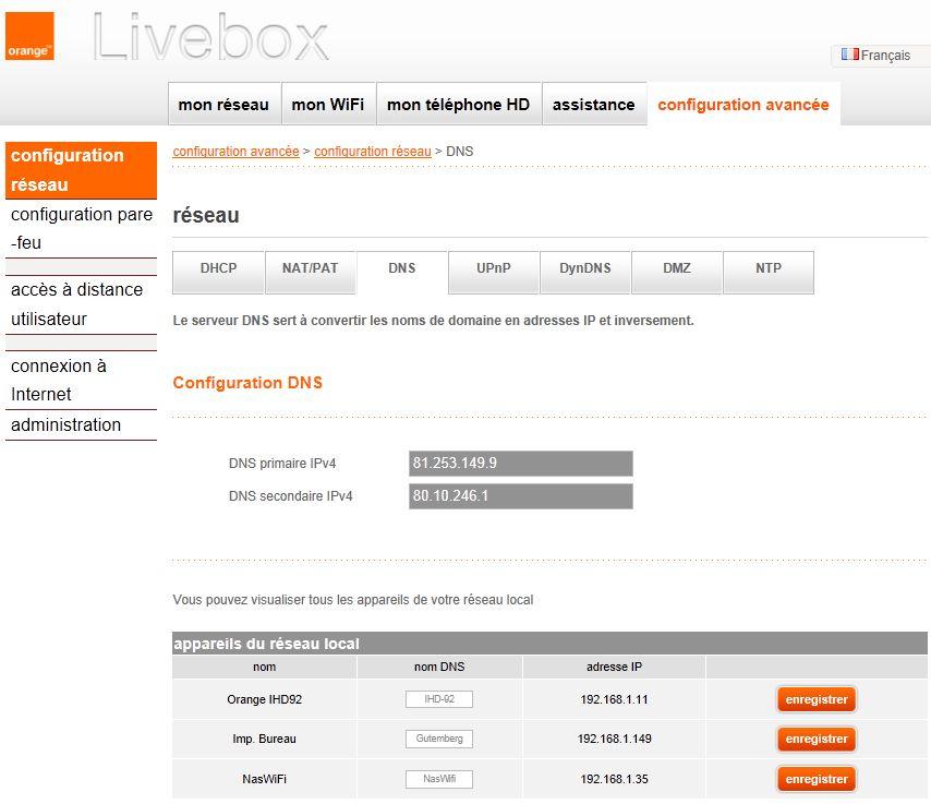 nouvelle interface livebox communaut orange. Black Bedroom Furniture Sets. Home Design Ideas